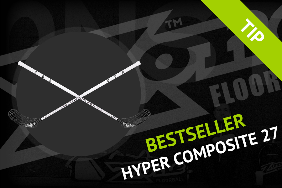 Floorball stick tip by Roman - Zone Hyper Composite F27!
