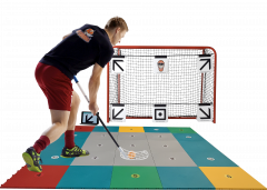 MyFloorball Skills Zone 360 Flooring
