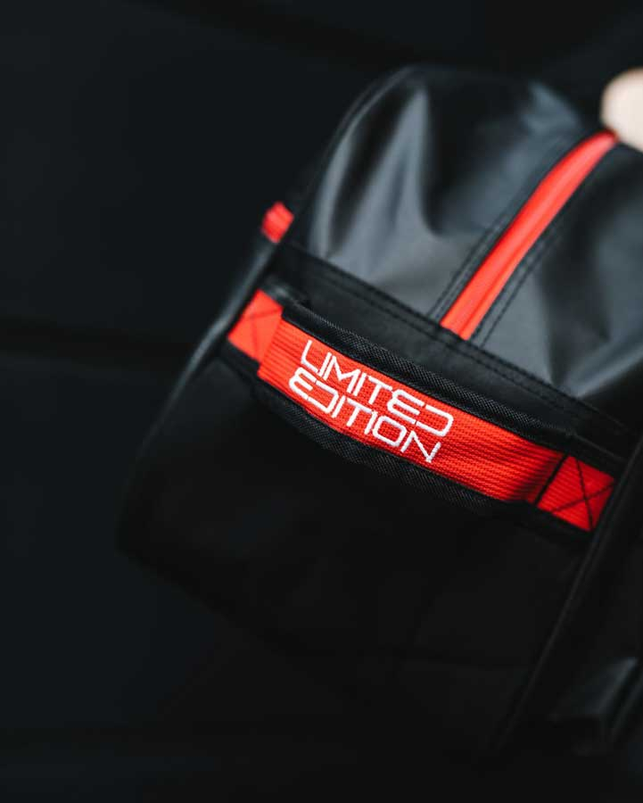 Zone Brilliant Black/Red Edt. Toolbag